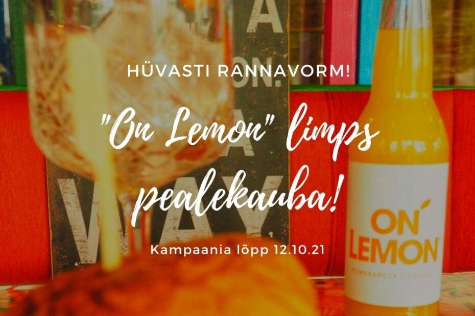 """""""On Lemon"""" limps pealekauba"""